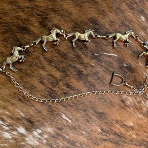 Silver Horse Belt
